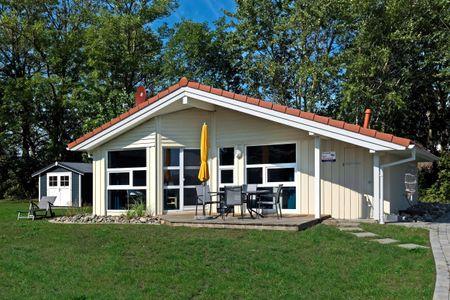 Dänische Ferienhäuser am Salzhaff Haus Im Wiesengrund Vorwerk - Hauptansicht