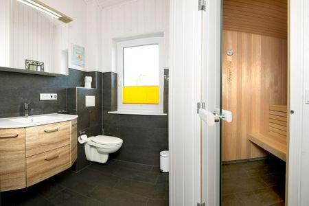 Dänische Ferienhäuser am Salzhaff Haus Midsommer Vorwerk - Badezimmer