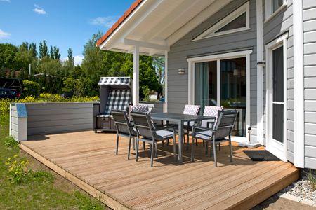 Dänische Ferienhäuser am Salzhaff Haus Midsommer Vorwerk - Hauptansicht
