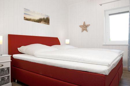 Dänische Ferienhäuser am Salzhaff Haus Midsommer Vorwerk - Schlafzimmer