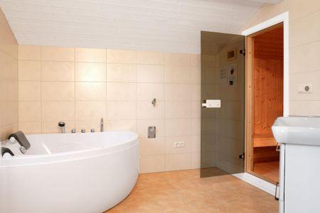 Dänische Ferienhäuser am Salzhaff Haus Pacific Vorwerk - Badezimmer