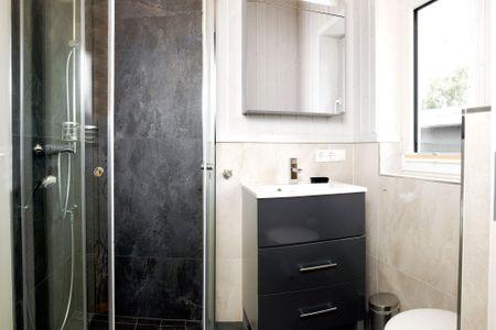 Dänische Ferienhäuser am Salzhaff Haus Strandbrise Vorwerk - Badezimmer