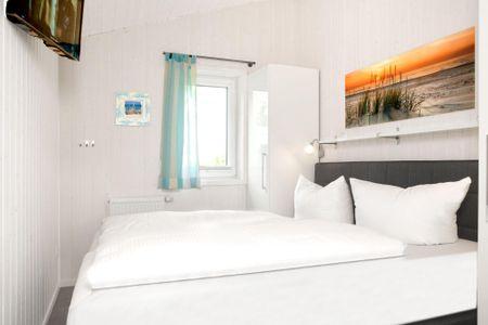 Dänische Ferienhäuser am Salzhaff Haus Strandbrise Vorwerk - Schlafzimmer