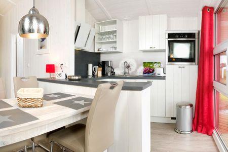 Dänische Ferienhäuser am Salzhaff Haus Strandbrise Vorwerk - Küche / Küchenzeile
