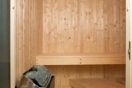 Dänische Ferienhäuser am Salzhaff Haus Strandhafer Vorwerk - Sauna