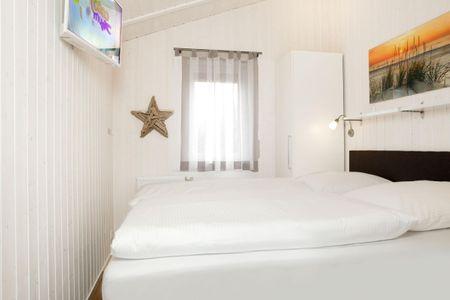 Dänische Ferienhäuser am Salzhaff Haus Strandhafer Vorwerk - Schlafzimmer