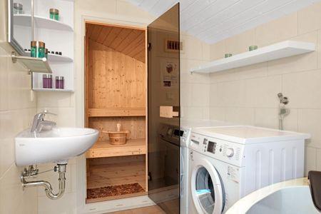 Dänische Ferienhäuser am Salzhaff Haus Meerjungfrau Vorwerk - Badezimmer