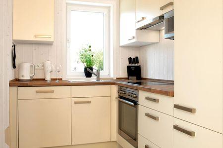 Dänische Ferienhäuser am Salzhaff Haus Meerjungfrau Vorwerk - Küche / Küchenzeile