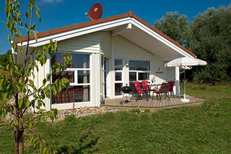 Dänische Ferienhäuser am Salzhaff Haus Vogelparadies Vorwerk - Hauptansicht
