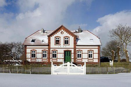 Einhusen Kornkammer Einhusen - Fassade / Eingang