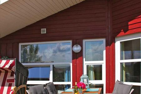 Dänische Ferienhäuser am Salzhaff Haus Meerjungfrau Vorwerk -