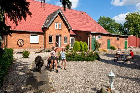 Grömitz Ferienwohnung Landidyll, Familienurlaub auf dem Ostsee Bauernhof