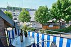 Hafen-Residenz HR Ankerwache Laboe - Balkon