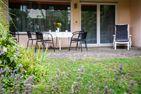 Ferienwohnpark Immenstaad am Bodensee Ferienhaus Tobelweg  - Terrasse