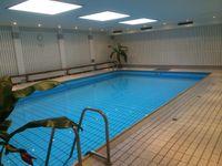 Helle Strandwohnung Wyk - Pool