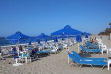 Strand von Platanias bei Rethymnon ca. 10km enfernt