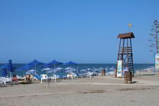 Beach of Platanias at Rethymnon in 9km