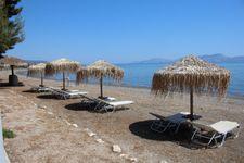 Strand bei Thermisia nach ca. 1,8km