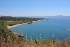 Glyfada Strand nach 2km