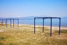 Strand von Chalkoutsi nach ca. 2km