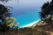 Strand von Egremnoi nach ca. 30km