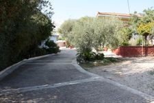 driveway to the holiday home