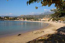 Strand von Stoupa nach 7km