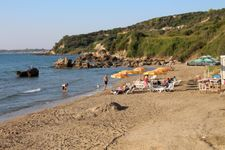 Strand nach 1 km