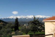 """Blick auf die Berge """"Lefka Ori"""""""
