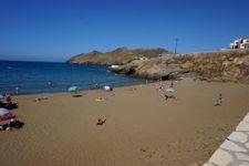 Strand von Panormos, ca. 18km entfernt