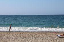 Strand von Platanias bei Rethymnon in der Nähe vom Ferienhaus