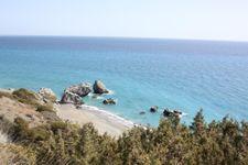 Listis Beach, ca. 10 minutes to drive by car