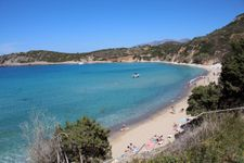 Voulisma beach in 3.5km