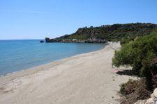 Strand nach ca. 5km