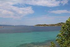 Strand von Ormos Panaghias, ca. 2,1km entfernt