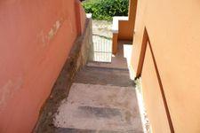 Treppe zur Ferienwohnung