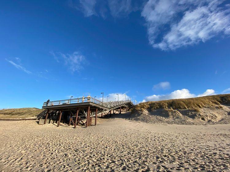 Bild Sylt Strand Winter Herbst Ferienwohnung