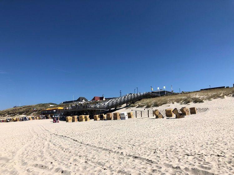 Sommer Sylt Wenningstedt Strandkörbe Strand