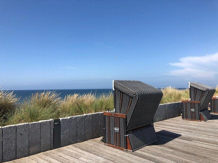 Sommer Strandkorb Wenningstedt