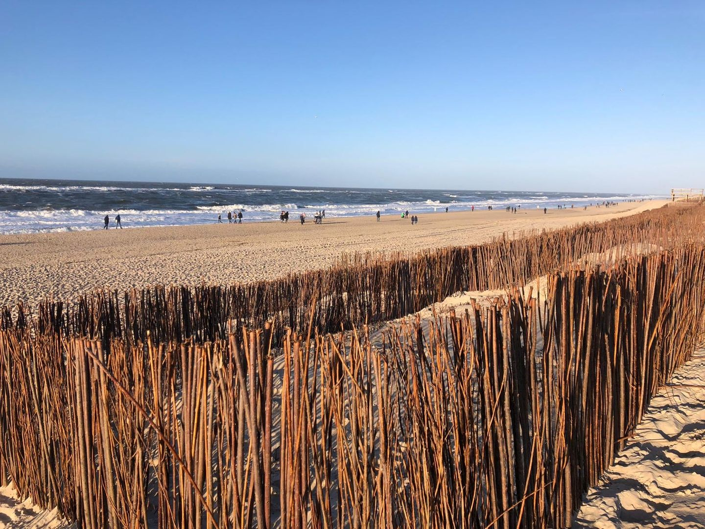 Sylt im Winter am Strand
